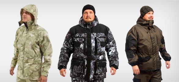 """Одежда """"Бабек"""" для охотников и рыбаков"""